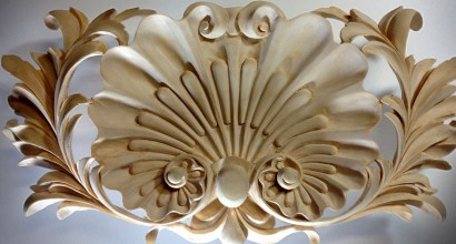 Baroque style Wood Carving