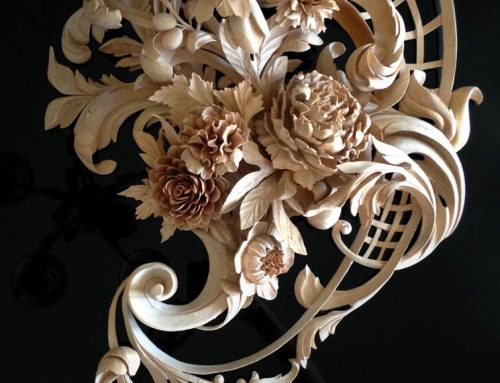 Hand Carved Flowers