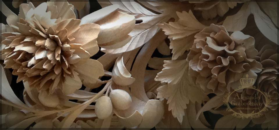Custom woodcarving master wood carver grabovetskiy like